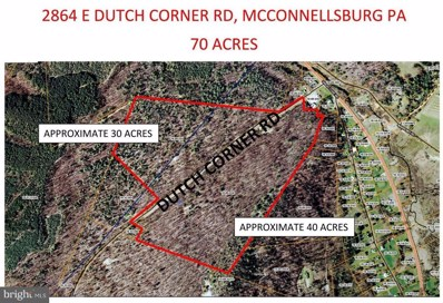 2864 East Dutch Corner Road, Mcconnellsburg, PA 17233 - MLS#: 1000330972