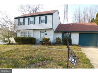 881 Waterford Drive, Delran, NJ 08075 - MLS#: 1000343330