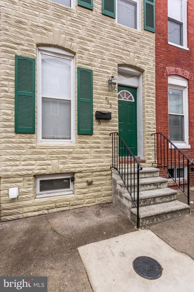 755 Carroll Street, Baltimore, MD 21230 - MLS#: 1000343848