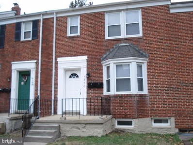 6170 Parkway Drive, Baltimore, MD 21212 - MLS#: 1000366020