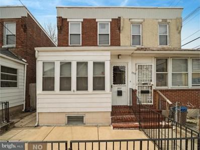 202 Moore Street, Darby, PA 19023 - MLS#: 1000366422
