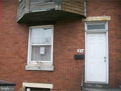 637 W Sedgley Avenue, Philadelphia, PA 19140 - MLS#: 1000378504
