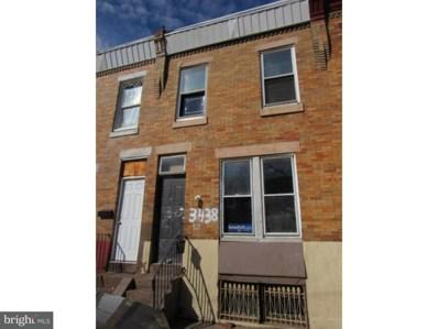 3438 Dillman Street, Philadelphia, PA 19140 - MLS#: 1000383952