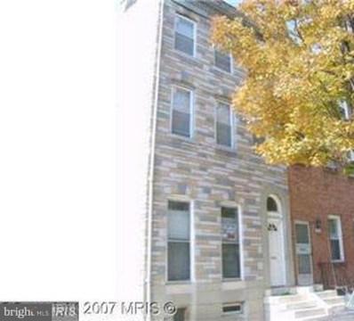 1206 Caroline Street, Baltimore, MD 21213 - MLS#: 1000389190