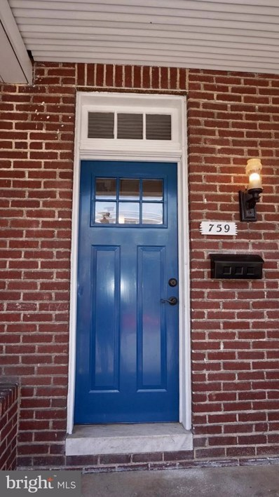 759 36TH Street E, Baltimore, MD 21218 - MLS#: 1000390922