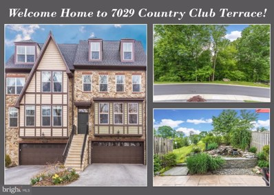 7029 Country Club Terrace, New Market, MD 21774 - MLS#: 1000393016