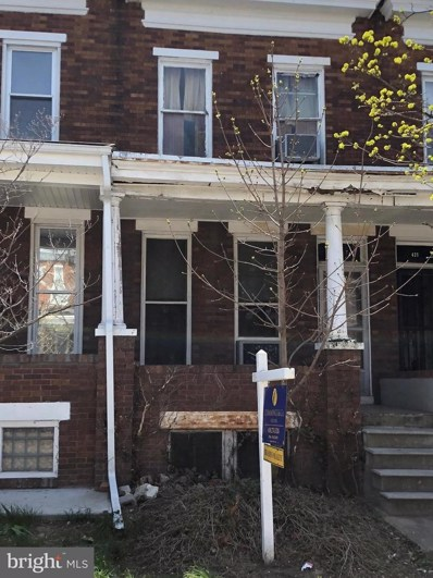 423 Ilchester Avenue, Baltimore, MD 21218 - MLS#: 1000403700