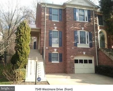 7549 Westmore Drive, Springfield, VA 22150 - MLS#: 1000408744
