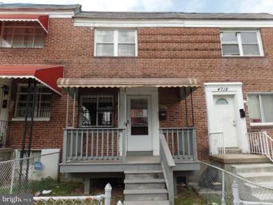 4716 Alhambra Avenue, Baltimore, MD 21212 - MLS#: 1000411654