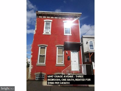 6047 Osage Avenue, Philadelphia, PA 19143 - MLS#: 1000411856