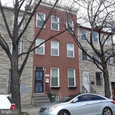 1020 Lombard Street W, Baltimore, MD 21223 - MLS#: 1000416962
