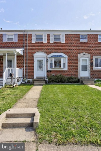 7644 Charlesmont Road, Baltimore, MD 21222 - MLS#: 1000419862