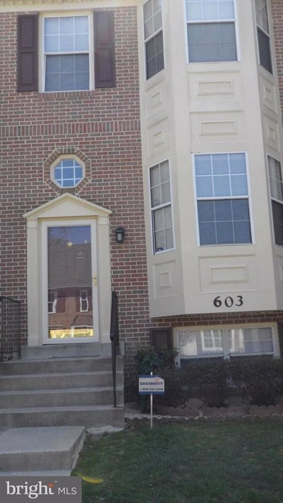 603 Evening Star Place, Bowie, MD 20721 - MLS#: 1000422640