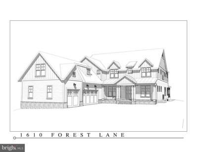 1610 Forest Lane, Mclean, VA 22101 - MLS#: 1000425344