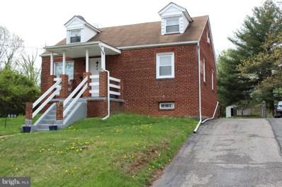 405 Delaware Avenue, Glen Burnie, MD 21060 - MLS#: 1000428424