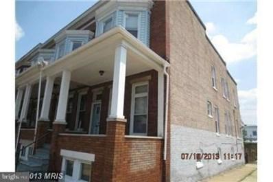 1701 Ruxton Avenue, Baltimore, MD 21216 - MLS#: 1000428822