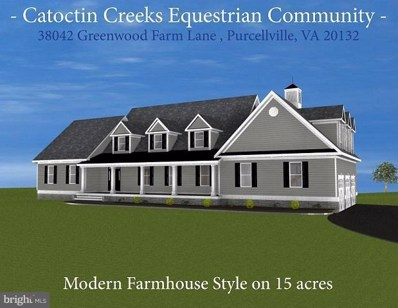 38042 Greenwood Farm Lane, Purcellville, VA 20132 - MLS#: 1000431022