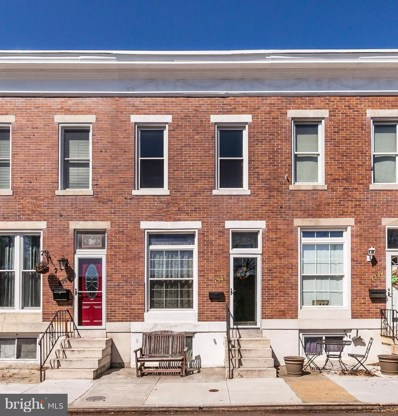 1740 Webster Street, Baltimore, MD 21230 - MLS#: 1000431960