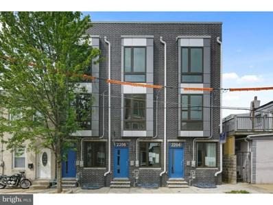 2206 E Albert Street, Philadelphia, PA 19125 - MLS#: 1000432360