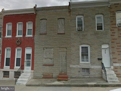 2521 Fayette Street, Baltimore, MD 21223 - MLS#: 1000432718