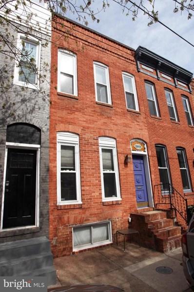 1035 Riverside Avenue, Baltimore, MD 21230 - MLS#: 1000439708