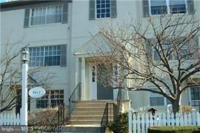4417 Romlon Street UNIT 201, Beltsville, MD 20705 - MLS#: 1000441106