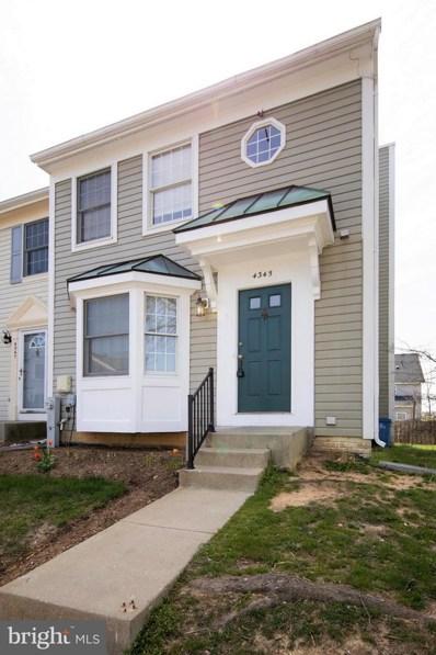 4345 Regalwood Terrace, Burtonsville, MD 20866 - MLS#: 1000453018