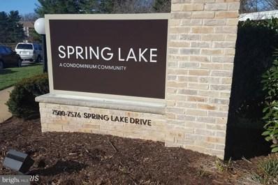 7515 Spring Lake Drive UNIT C-1, Bethesda, MD 20817 - MLS#: 1000458744