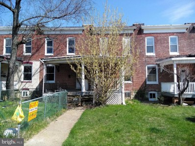 3727 Manchester Avenue, Baltimore, MD 21215 - MLS#: 1000461920