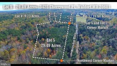 3425 Cherrywood Place, Waldorf, MD 20601 - MLS#: 1000468346