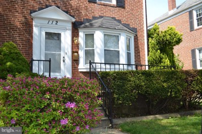 112 Overbrook Road, Baltimore, MD 21212 - MLS#: 1000477298