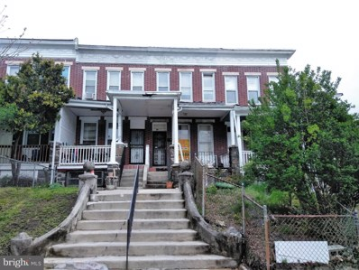 1703 Ashburton Street, Baltimore, MD 21216 - MLS#: 1000480034