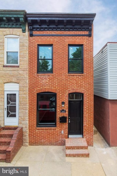 1443 Battery Avenue, Baltimore, MD 21230 - MLS#: 1000484236