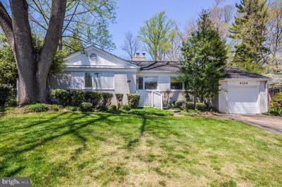 4104 Edgevale Court, Chevy Chase, MD 20815 - MLS#: 1000488400