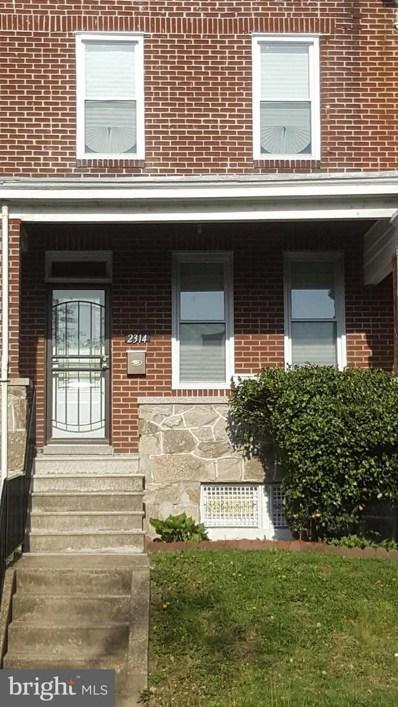 2314 Longwood Street, Baltimore, MD 21216 - MLS#: 1000490498