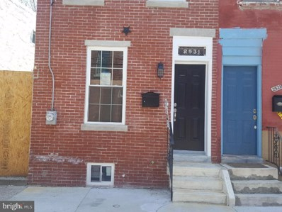 2531 Collins Street, Philadelphia, PA 19125 - MLS#: 1000671442
