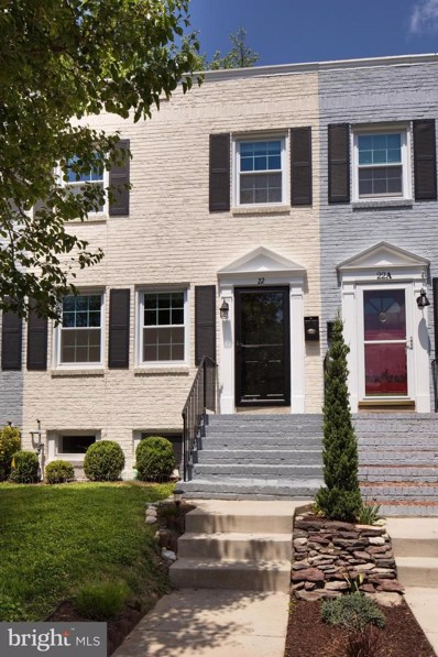 22 Linden Street E, Alexandria, VA 22301 - MLS#: 1000868410