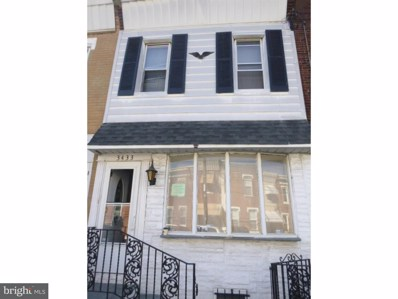 3433 Emerald Street, Philadelphia, PA 19134 - MLS#: 1000872350