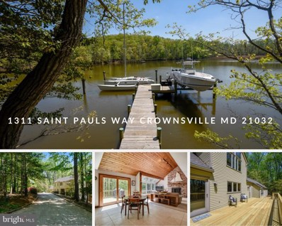 1311 Saint Pauls Way, Crownsville, MD 21032 - MLS#: 1000872714