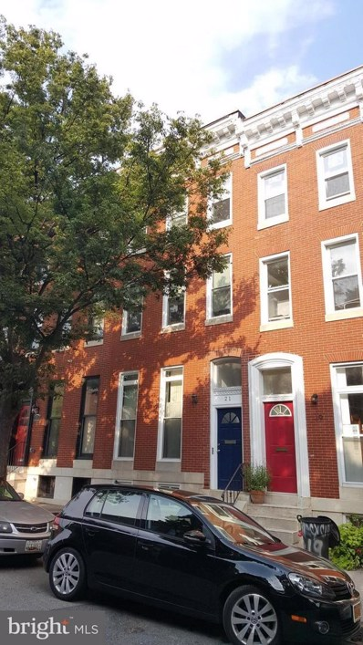 21 Chester Street N, Baltimore, MD 21231 - MLS#: 1000909984