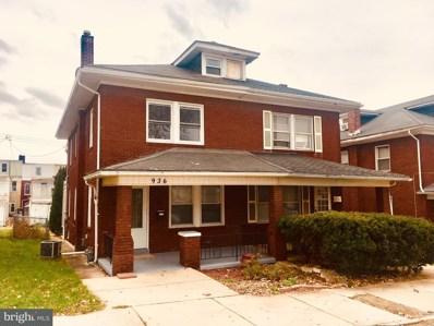 936 W Locust Street, York, PA 17401 - MLS#: 1000935523