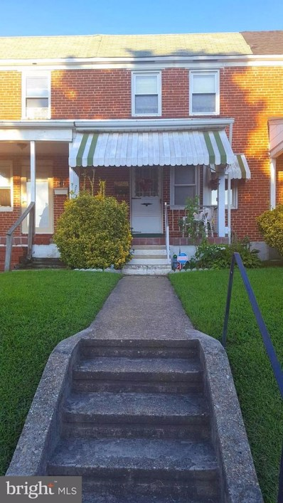3481 Dunhaven Road, Baltimore, MD 21222 - MLS#: 1000975589