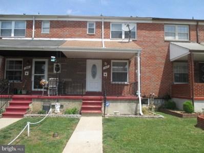 1017 Foxchase Lane, Baltimore, MD 21221 - MLS#: 1000976295