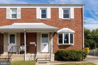 326 Elinor Avenue, Baltimore, MD 21236 - MLS#: 1000976577