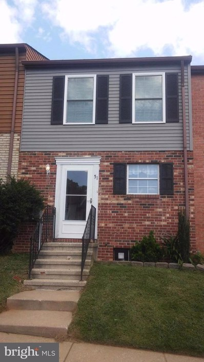 51 Wyegate Court, Owings Mills, MD 21117 - MLS#: 1000976705