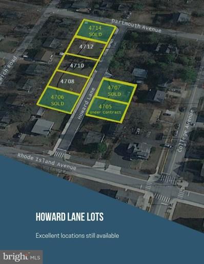 4705 Howard Lane, College Park, MD 20740 - #: 1000981029