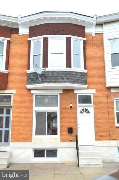 415 Lehigh Street, Baltimore, MD 21224 - MLS#: 1000981819