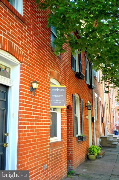 424 Wolfe Street, Baltimore, MD 21231 - MLS#: 1000982209