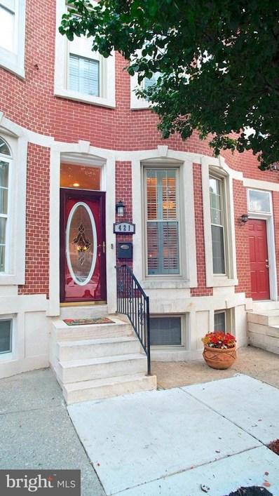421 Luzerne Avenue, Baltimore, MD 21224 - MLS#: 1000982843