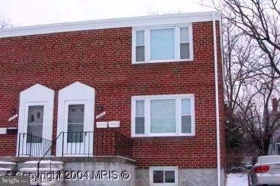 2800 Shirey Avenue, Baltimore, MD 21214 - MLS#: 1000983005